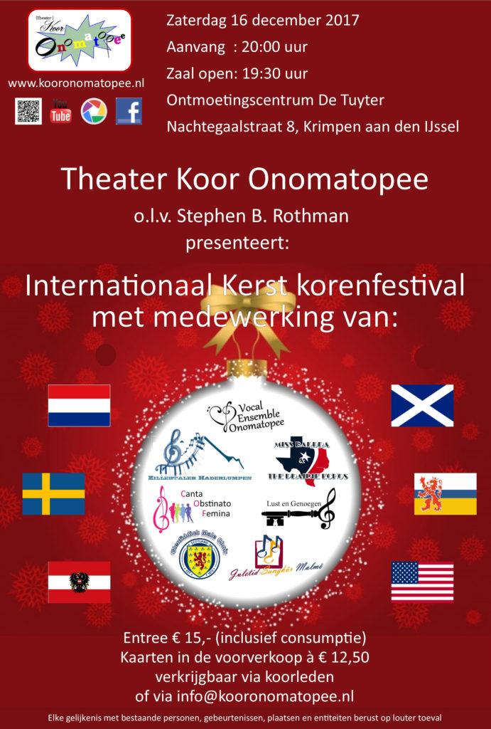 Internationaal Kerst korenfestival