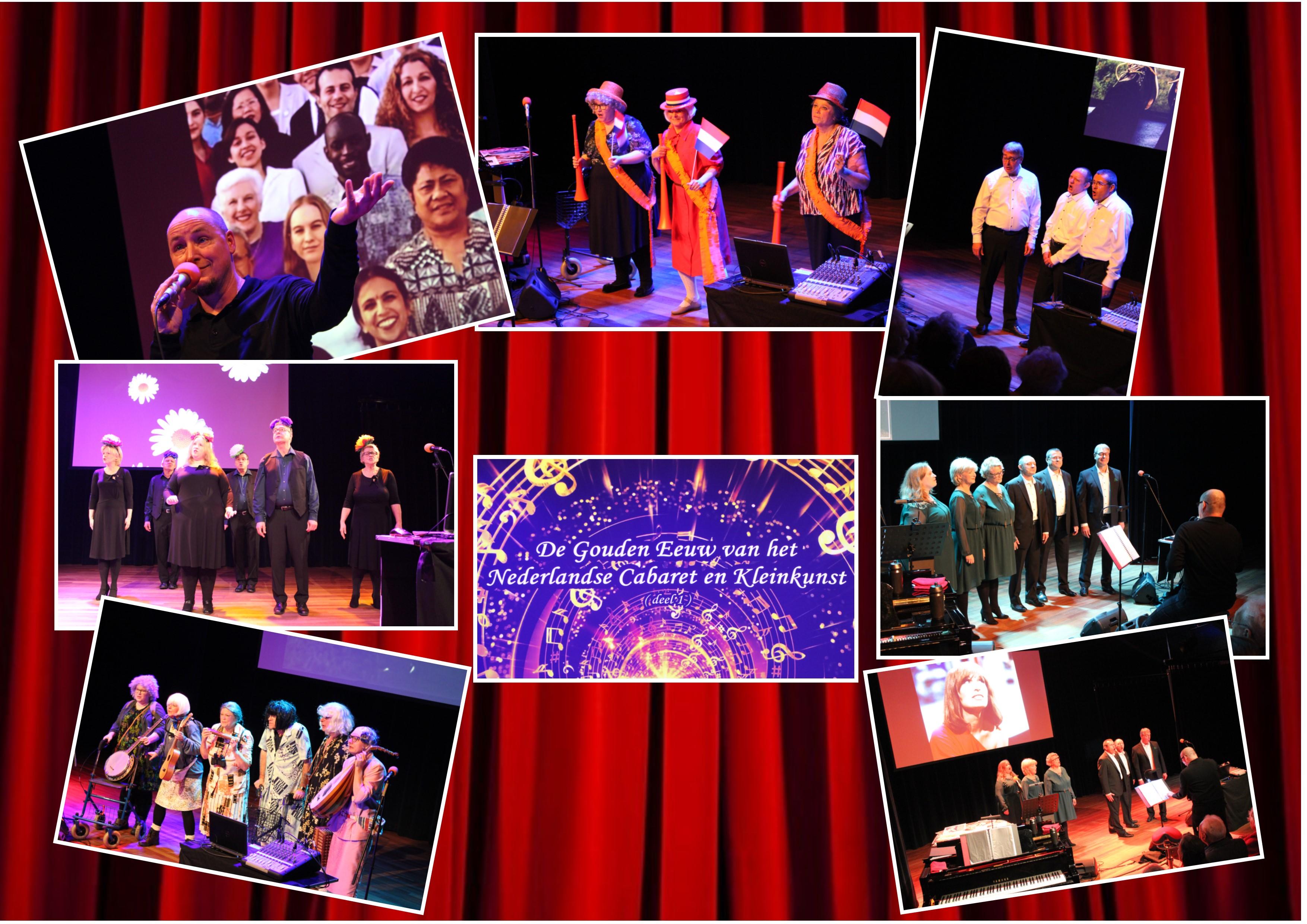 De Gouden Eeuw van het Nederlandse Cabaret en Kleinkunst
